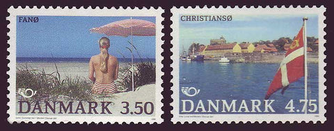 DE0939-401 Denmark       Scott # 939-40 MNH,              Danish Islands 1991