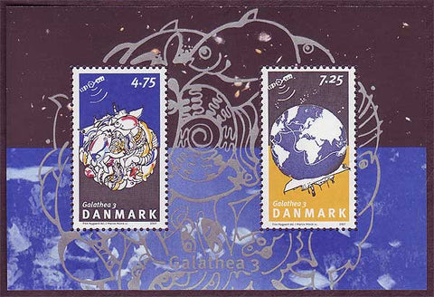 DE1379a1 Denmark Scott # 1379a MNH, Galathea 3 Expedition 2007