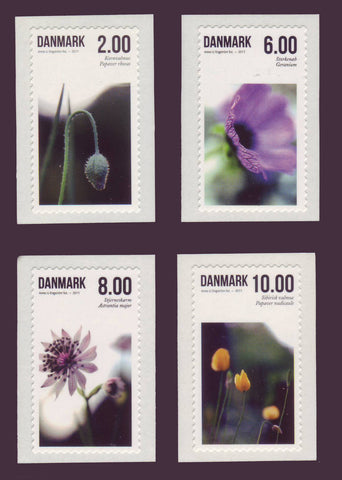 DE1545-481 Denmark Scott # 1545-481 MNH, Summer Flowers 2011