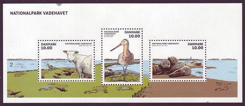 DE17051 Denmark Scott # 1705 MNH, Wadden Sea National Park 2015