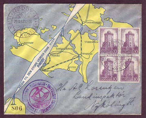 DE5056PH Denmark  Philatelic club cover 1942
