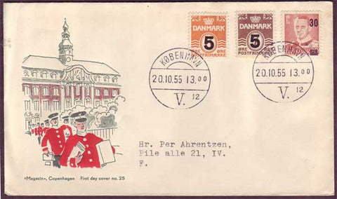 DE5078PH Denmark First Day Cover 1955
