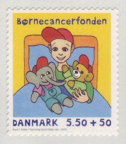 DEB951 Denmark Scott # B95 MNH, Semi-Postal Issue for 2010