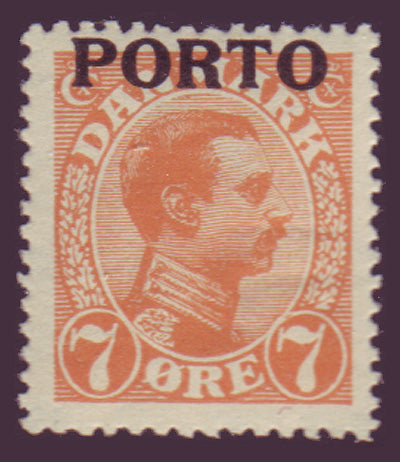 Copy of DEJ03 Denmark Scott # J3 MNH**, Postage Due 1921