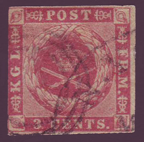 DWI01 Danish West Indies Scott # 1