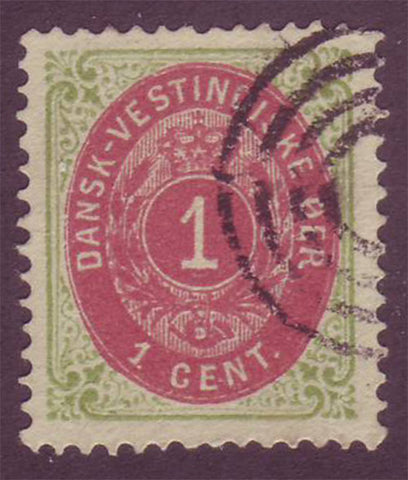 DWI05.9 Danish West Indies Scott # 5e VF