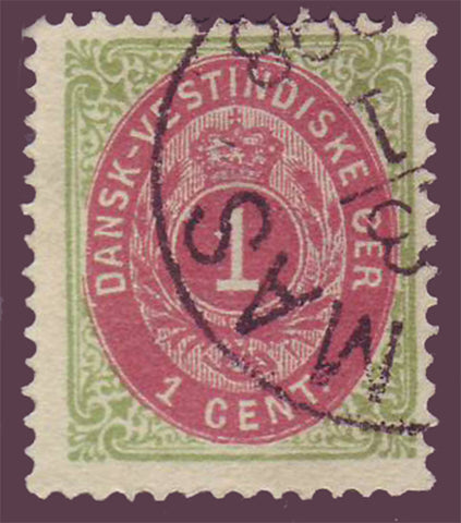 DWI05 Danish West Indies Scott # 5