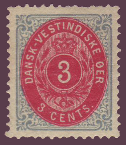 DWI06e Danish West Indies Scott # 6e VF MH