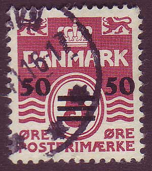 FA00055 Faroe Islands Scott # 5 VF Used