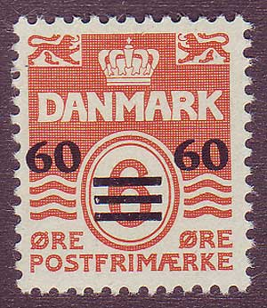 FA00062 Faroe Islands Scott # 6 VF MH
