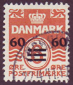 FA00065 Faroe Islands Scott # 6 Used