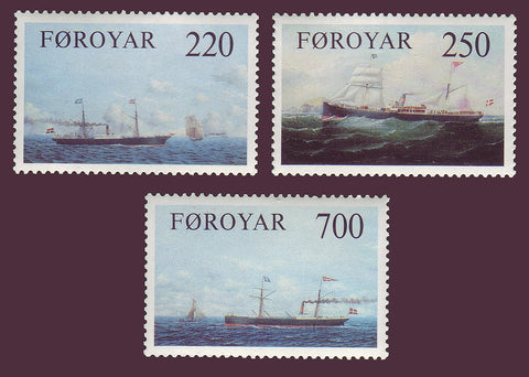 FA0090-921 Faroe Islands Scott # 90-92 VF MNH