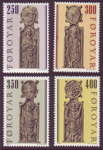 FA0102-051 Faroe Islands Scott # 102-05 VF MNH