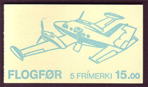 FA0138a Faroe Islands Scott # 138a MNH, Airplanes 1985