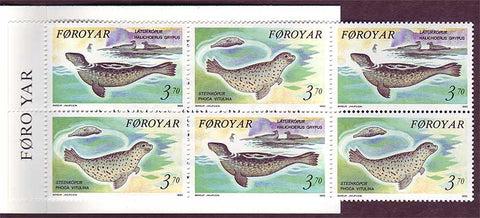 FA0240a1 Faroe Islands Scott # 240a VF MNH, Seals