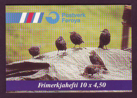 FA0331a1 Faroe Islands Scott # 331a VF MNH, Birds 1997
