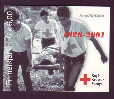 FA0394a Faroe Is.Scott # 394a MNH, Faroese Red Cross 2001