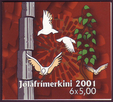 FA0407a Faroe Is. Scott # 407a MNH, Christmas 2001