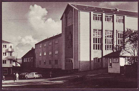 FA6002 Faroe Islands Tórshavn High School ca.1955.