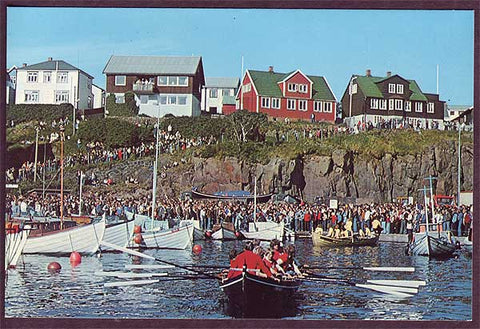 FA6035 Faroe Islands Olavsoka (National Holiday)