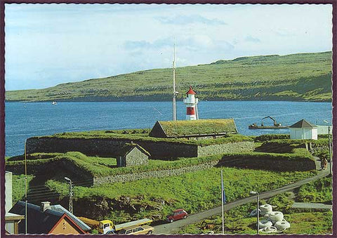 FA6038 Faroe Islands Skansin, the old fort of Tórshavn