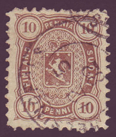 FI0020.15 Finland Scott # 20 VF used 1881