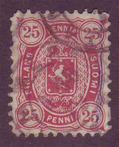 FI00225.1 Finland Scott # 22 VF used 1875