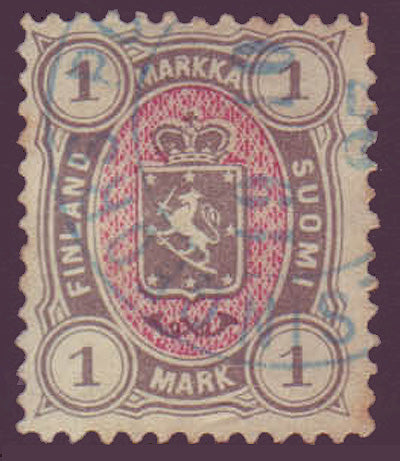 FI0035.15 Finland Scott # 35 F-VF used 1885