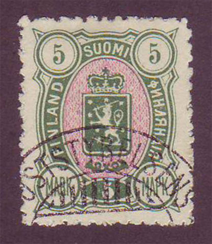 FI00445 Finland Scott # 44 VF used 1890