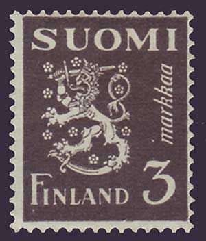 FI01752 Finland Scott # 175 MH, Arms of the Republic 1930-46