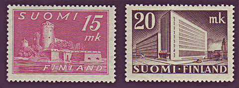 FI0247-481 Finland Scott # 247-48 MNH, Views 1945