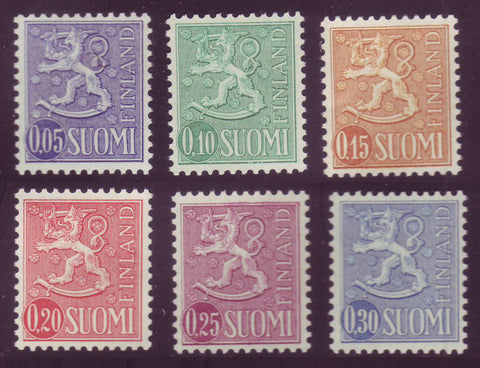 FI0399-04 Finland Scott # 399-14 VF MNH, Arms of Finland Definitives 1963