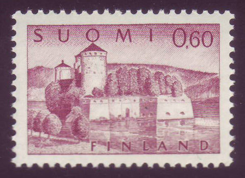FI04081 Finland Scott # 414 VF MNH, Olavinlinna Definitive 1963