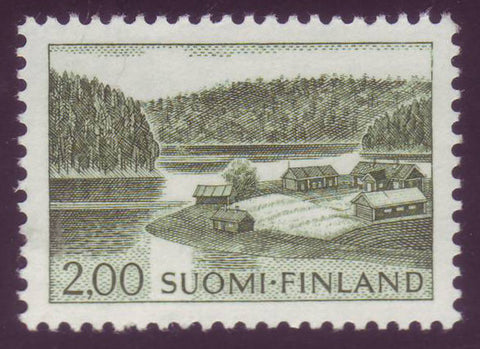FI04141 Finland Scott # 414 VF MNH, Farm Scene Definitive 1964