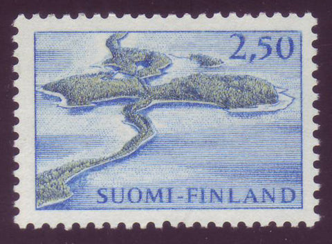 FI0414A1 Finland Scott # 414 VF MNH, Punkaharju Definitive 1967