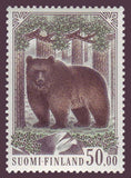 FI07191 Finland Scott # 719 VF MNH, Brown Bear 1989