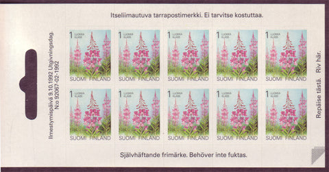 FI0838a1 Finland Scott # 838a MNH, Rose Bay 1991-99