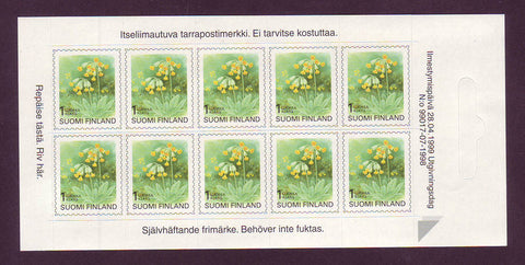 FI0845a1 Finland Stamps # 845a MNH, Cowslip 1990-99