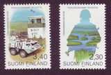 FI0914-151 Finland Scott # 914-15 VF MNH, Finnish Defence Force 1993