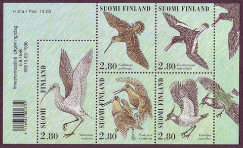 FI10141 Finland Scott # 1014a MNH, Shore Birds 1996