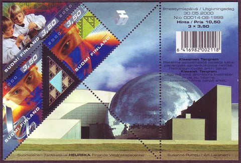 FI11401 Finland Scott # 1140  MNH, Science with Hologram 2000