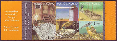 FI11591 Finland Scott # 1159 booklet MNH, Gulf of Finland I - 2001