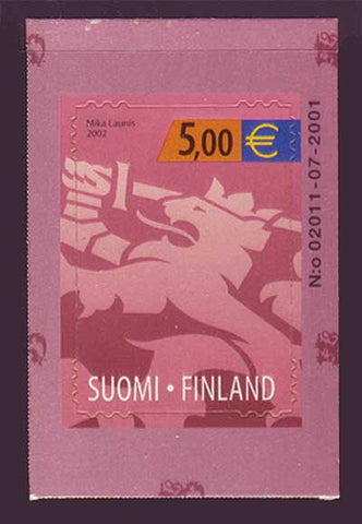 FI11721 Finland Scott # 1172 VF MNH, Finnish Lion Definitive 2002