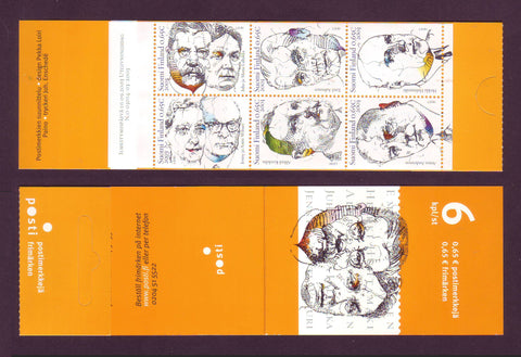 FI1196 Finland Scott # 1196 booklet MNH, Finnish Philanthropists 2003