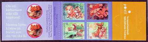 FI1228 Finland Stamps # 1228 booklet MNH, Children's Toys 2005