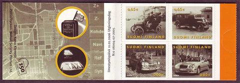 FI12511 Finland Scott # 1251 booklet MNH, Taxis 2006