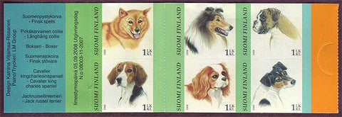 FI13181 Finland Scott # 1318 MNH, Dogs 2008
