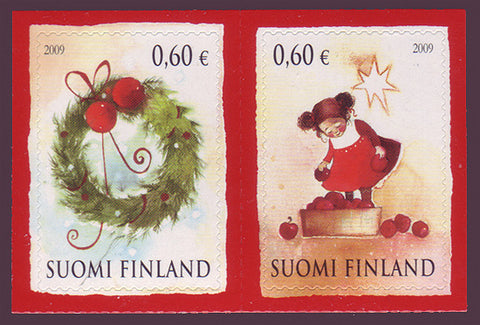 FI13431 Finland Scott # 1343 VF MNH, Christmas 2009