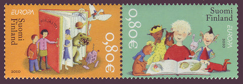 FI13551 Finland Scott # 1355 VF MNH, Children's Books - Europa 2010