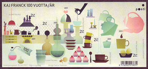 FI13761 Finland Scott # 1376 MNH, Kitchen Design 2011